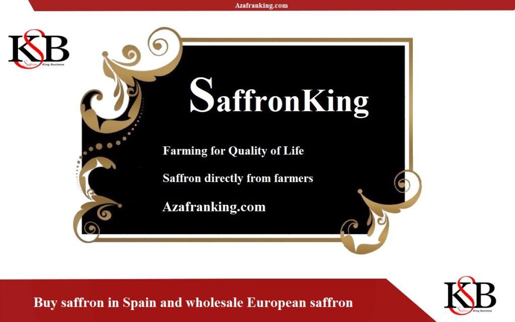 Agente de ventas de Saffron en Saffron King Company